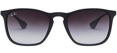 0cdd09b37e Qoo10 - New Ray Ban Chris RB4187 622 8G Rubber Black Grey Gradient 54mm  Sungla...   Fashion Accessor.