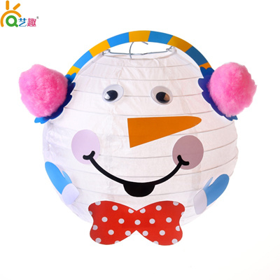 Snowman Christmas Cards Diy.New Snowman Christmas Lantern Lantern Diy Kids Crafts Christmas Cards For The Elderly Through Hand H