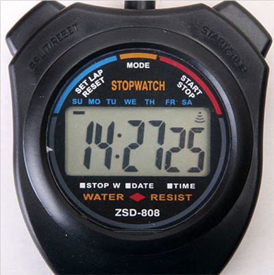 qoo10 new stopwatch stop watch lcd digital chronograph timer