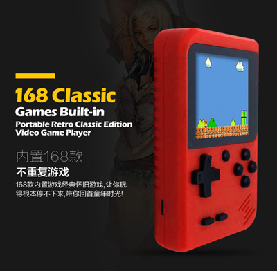 New Sup Gameboy Game Console 3 Inch 400 Games Retro FC Game Player Classic  Game