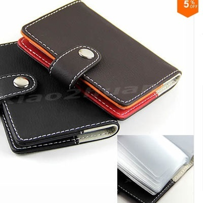 Qoo10 new synthetic leather business name id credit card holders new synthetic leather business name id credit card holders cases wallet 20 slots reheart