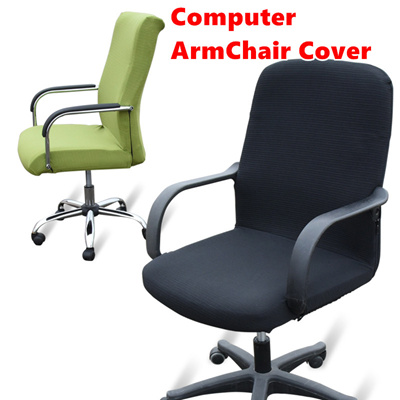 New Universal Office Chair Cover Armchair Chairs Supcover Boss Covers Breathable Sweat