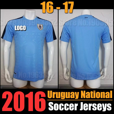 huge selection of 323a9 2b4a9 new Uruguay national Jersey 2016 2017 Uruguay home football team soccer  jerseys 3A+++ Best thai qu