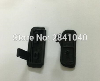 NEW USB/HDMI DC IN/VIDEO OUT Rubber Door Bottom Cover Canon EOS 600D Rebel  T3i Kiss X5 Digital