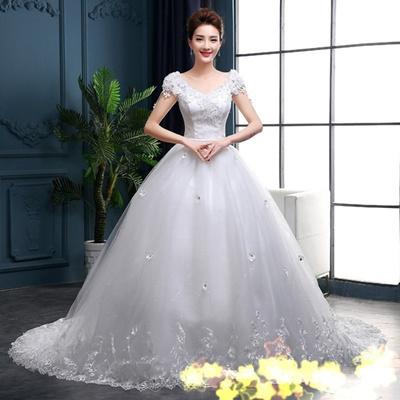 Newest Wedding Dress.New Wedding Dress Long Trailing Wedding Gown Wedding Dress Wedding Dress