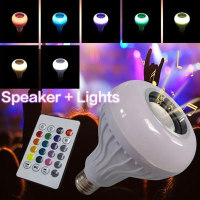 Qoo10 - New Wireless nE27 Bluetooth LED Stereo Audio Speaker RGB Color Warm  Wh...   Men s Clothing 536e6ba2f
