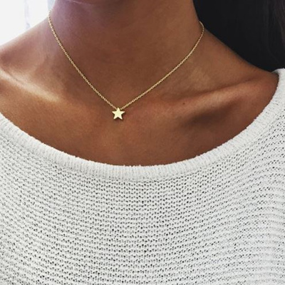 Qoo10 choker necklace watch jewelry new women gold silver choker necklace star heart choker necklace chain jewelry modern fashion mozeypictures Gallery