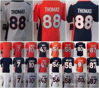 quality design d361c b58a5 NEW Women jerseys #7 John Elway #10 Emmanuel Sanders #43 T-J- Ward #56  Shane Ray #58 Von Miller #88