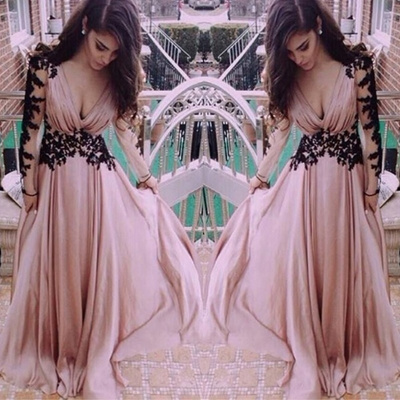 4eff95ca24 New Women Sexy Deep V-neck Lace Chiffon Maxi Dresses Backless A-Line Evening