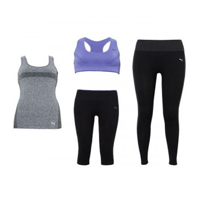 quite nice designer fashion the cheapest NEW YOGA SET PUMA Body Wear Simris Sports Bra &