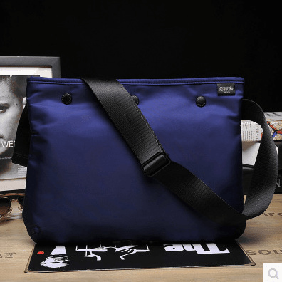 New Yoshida porter shoulder bag men bag casual waterproof bag shoulder  Messenger bag simple IPAD bag 9812cbe071b6a