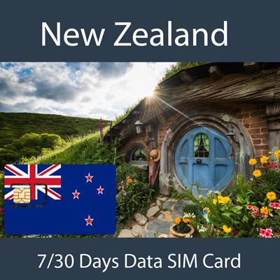 Qoo10 - New Zealand SIM Card : Top-Up