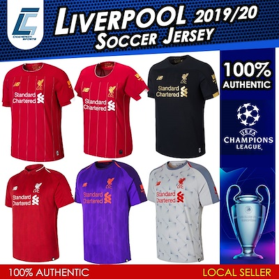 9a3375229 Newbalance 100% Authentic Liverpool LFC Champions League UEFA Men Women /  Boys/ HOME AWAY