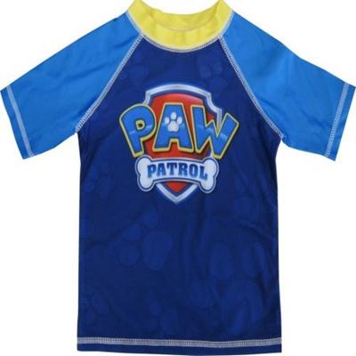 e7ac3ed6c7 Qoo10 - Nickelodeon Little Boys Royal Blue Paw Patrol Rash Guard Swimwear  Shir... : Kids Fashion