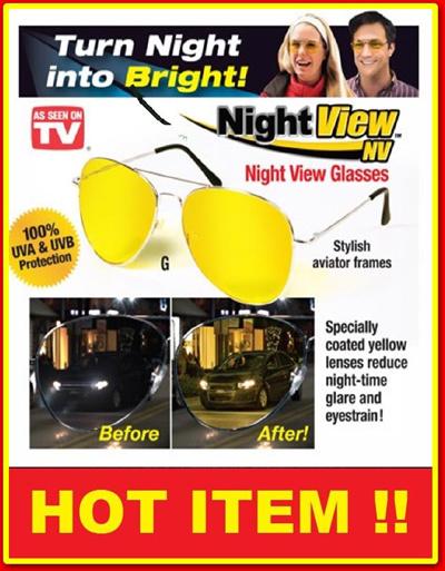 Qoo10 - NIGHT VIEW GLASSES VISION KACAMATA ANTI SILAU DI MALAM HARI~sri1    Fashion Accessories 4d3da4b6a3