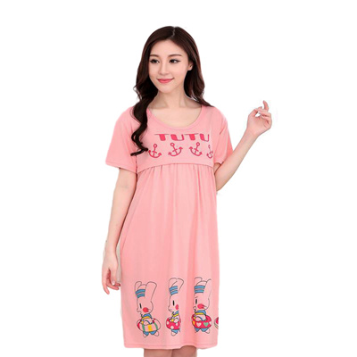 2a810d8873 Qoo10 - Nightie Women  s home Dressing gowns dresses for pregnant women  lac...   Baby   Maternity