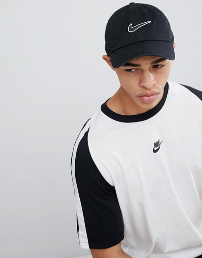 18eda614b NIKE나이키 Nike swoosh cap in black 943091-010