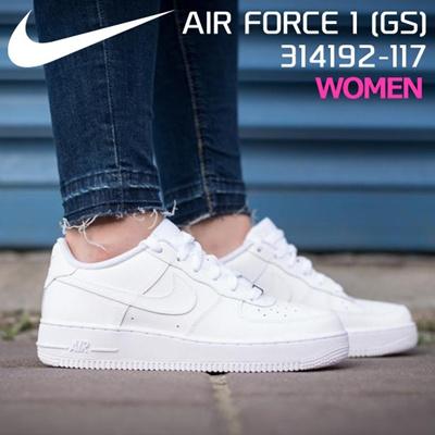 watch 2818a ac730 Qoo10 - Nike Air Force 1 GS NIKE AIR FORCE 1 GS 314192-117 White White nike  93   Kids Fashion