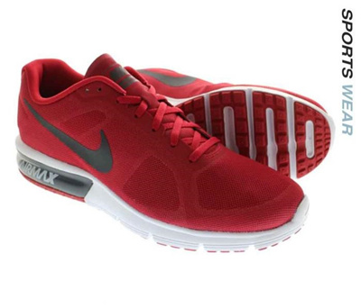 the best attitude ad47a b2339 Qoo10 - Nike Air Max Sequent Running Shoe - Gym Red  Sports