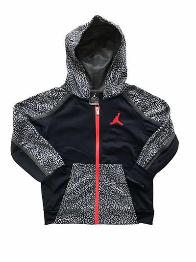 c02d57426b41f3 Qoo10 - Nike Boys Jordan Full Zip Hoodie   Sports Equipment