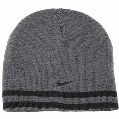 56bf3f5f Qoo10 - Nike Boys Knit Reversible Winter Beanie Hat Sz: 8/20 ...