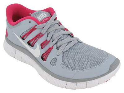 c114865a0611 ... coupon for nike free 5.0 womens running shoes 580591 061 wolf grey 7.5  m us c2bb7