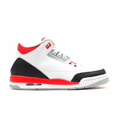 5820341f8df Qoo10 - JORDAN 3 III RETRO GS FIRE RED 398614-120   Sportswear