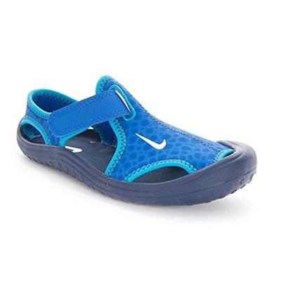 38f3261ac Qoo10 - Nike Kid s Sunray Protect Sandal (PS) Lyon Blue Midnight Blue Blue  Lag...   Men s Bags   Sho.