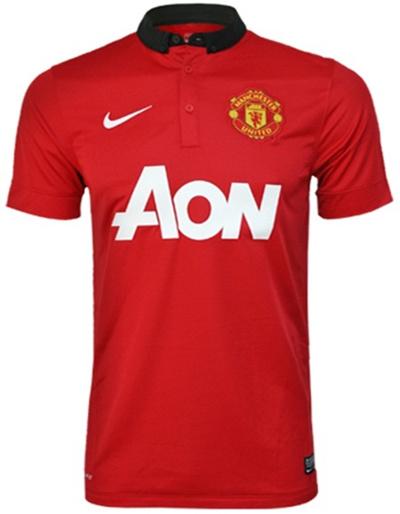040104500 Qoo10 - Nike Manchester United Home 13 14 Jsy   Sportswear