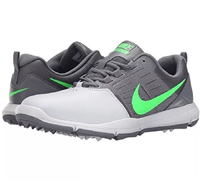 hot sales 9d8a0 be849 Qoo10 - (NIKE) New Nike EXPLORER SL Golf Shoe Mens Medium -  Platinum Green Gre...   Sportswear