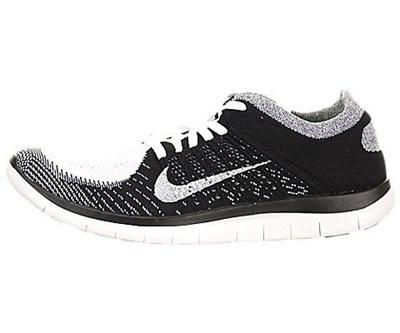 best website b06ab 768b6 NIKE[NIKE] 631053 100 - Men s Free Flyknit 4.0 White/White/Black/Volt  Running Shoe 10.5 Men US
