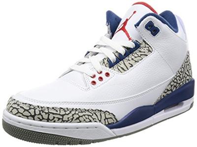 c2fc83f50 (Nike) Nike Air Jordan 3 Retro OG Mens Hi Top Basketball Trainers 854262  Sneakers