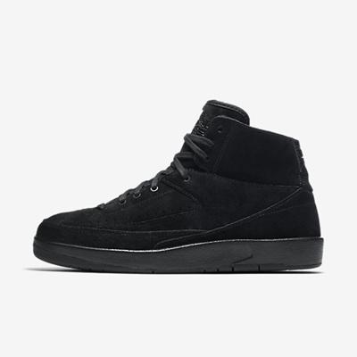 e88af48b9 Nike Air Jordan Retro 2 Decon Triple Black Men s Shoes 897521-010