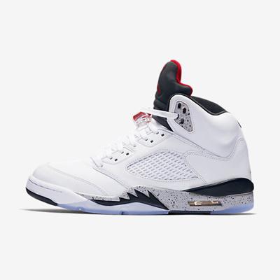 a321139c1 Nike Air Jordan Retro 5 Men s Shoes 화이트 136027-104
