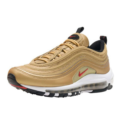 newest collection 439b2 d6546 NIKE AIR MAX 97 QS(GS) METALLIC GOLD VARSITY RED 918890-700