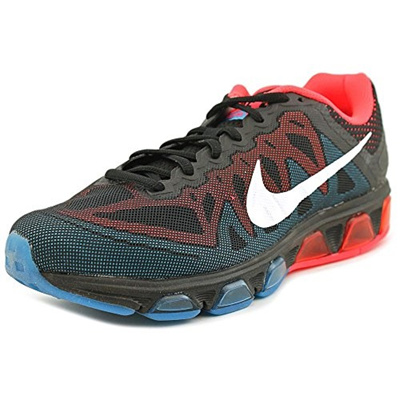 (NIKE) Nike Air Max Tailwind 7 Men s Running Shoe (Size:7.5 D(M) US|Color:BlackWhiteBrightcrim