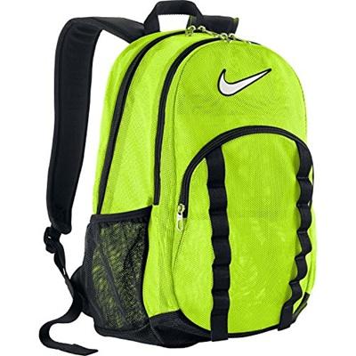 Qoo10 - (Nike) Nike Brasilia 7 Large Mesh Backpack - Neon Yellow   Perfume    Luxury Beauty