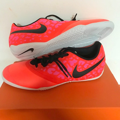 NIKE ELASTICO PRO IC FUTSAL INDOOR COURT FOOTBALL SOCCER SHOES SHOE FLAT  SOLE c80ced4aa5c4b