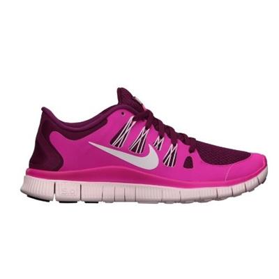 c9949647a62a Qoo10 - (Nike) Nike Free 5.0+ Womens Size 6 Pink Mesh Running Shoes-   Shoes