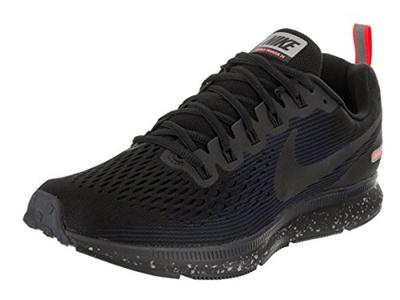 256bd0fdf9ef3 Qoo10 - (NIKE) Nike Men s Air Zoom Pegasus 34 Shield Running Shoe  Black Black-...   Sportswear