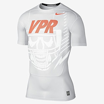 [NIKE] Pro Hypercool 3.0 Vpr Compression Men s Football Skull Shirt 651275  100