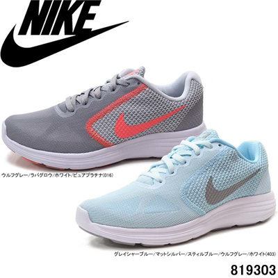 Nike Women's Revolution 3 819303 016 403 NIKE RUNNING W REVOLUTION 3  Running Shoes Sneakers Women's