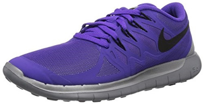 0c5dff194662c NIKE Womens Nike Free 5.0 Flash Running Shoe Purple Grey Black Size 8.5 M
