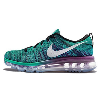 new product 1d0ed aba21 Qoo10 - (Nike) Nike Womens Wmns Flyknit Max, BLACK WHITE-CLEAR JADE-HYPER  VOLT...   Shoes