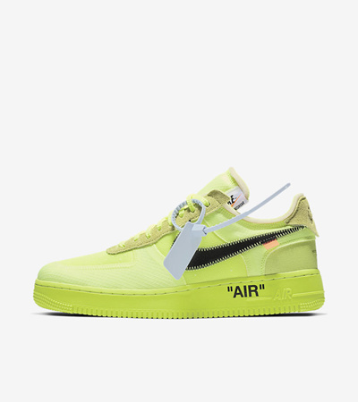 new arrival 76d18 f1ee6 NIKENike x Off White Air Force 1 Volt (Code: AO4606-700)