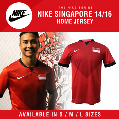 470800f1b Qoo10 - Nike Singapore 14 16 Home Jersey   AVAILABLE IN S   M   L SIZES!    Sportswear