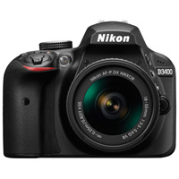 Nikon D3400 DSLR Camera with 18-55mm VR Lens Kit Image