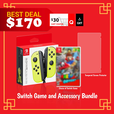 Nintendo2 for $50 Nintendo Switch Games and Accessories