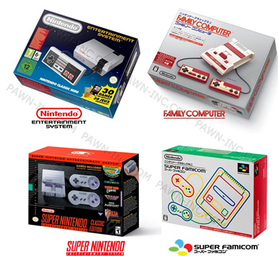 NintendoNintendo Classic System: NES Classic Mini | FC Classic Mini | SNES  Classic Mini | SFC Classic Mini