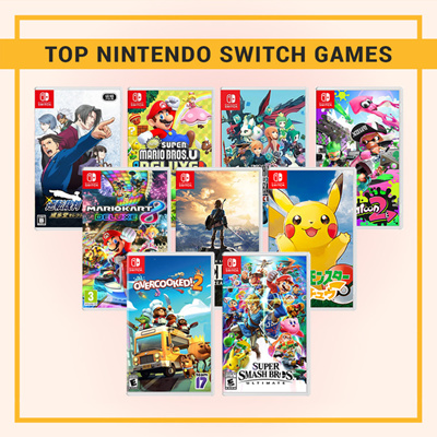 NintendoPopular Nintendo Switch Games // Affordable // Family Friendly //  Fun